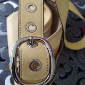 Coach Bags - Coach yellow purse
